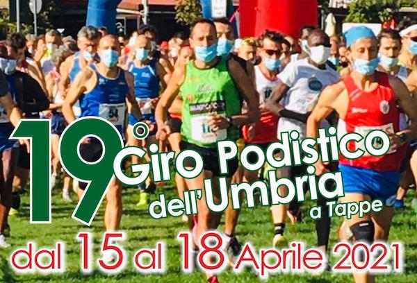 Il 19esimo Giro Podistico dell'Umbria attraversa anche le campagne pievesi
