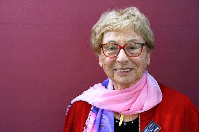 Edith Fischhof Gilboa, sopravvissuta alla Shoah, torna a San Lorenzo Nuovo