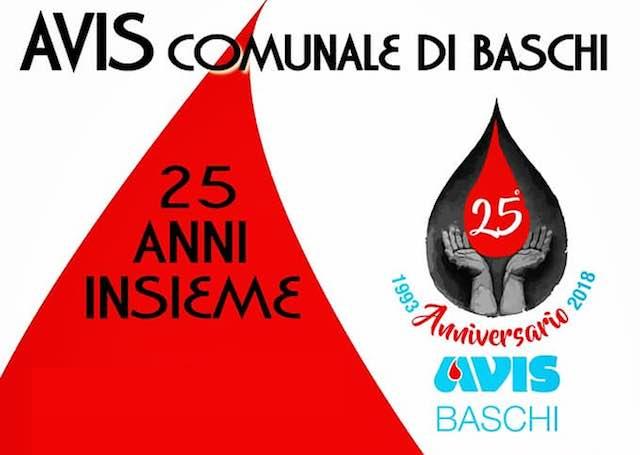 L'Avis Comunale di Baschi festeggia i suoi 25 anni di attività