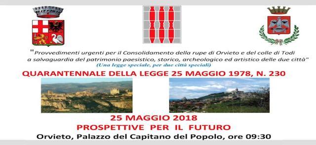Quarant'anni di Legge Speciale per Orvieto. Un video per rileggere la storia