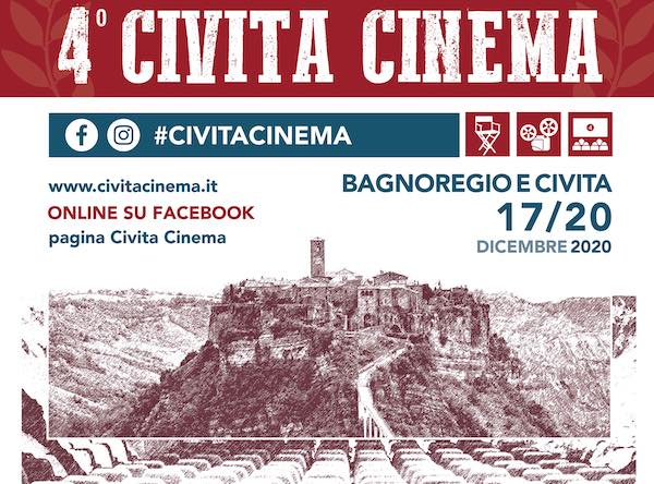 """In archivio """"Civita Cinema"""". L'edizione winter ed online chiude la stagione 2020"""