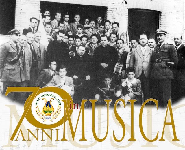 La musica rende giovani, 70 anni per la banda del paese