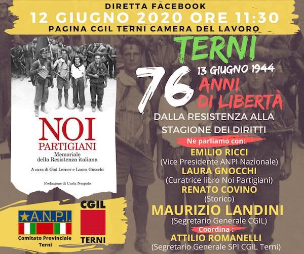 """""""Dalla Resistenza alla stagione dei diritti"""". Diretta Facebook con Maurizio Landini (Cgil)"""