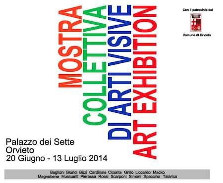 Mostra collettiva di arti visive al Palazzo dei Sette