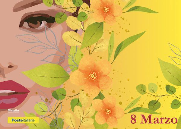 Cartoline filateliche per la Giornata Internazionale della Donna