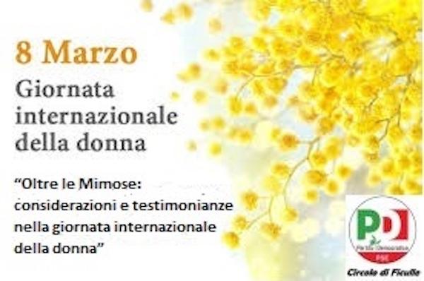 """""""Oltre le mimose: considerazioni e testimonianze nella giornata internazionale della donna"""""""