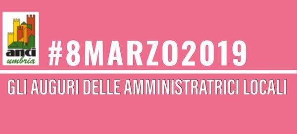 8 Marzo, gli auguri di Anci Umbria