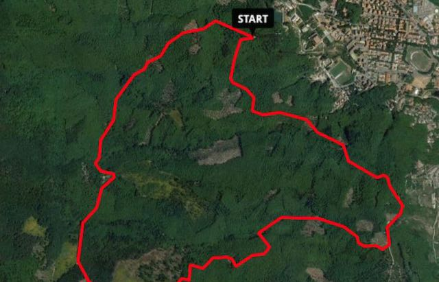 """Trekking sul percorso """"Sant'Antonio"""" con l'Asds """"E. Majorana"""""""