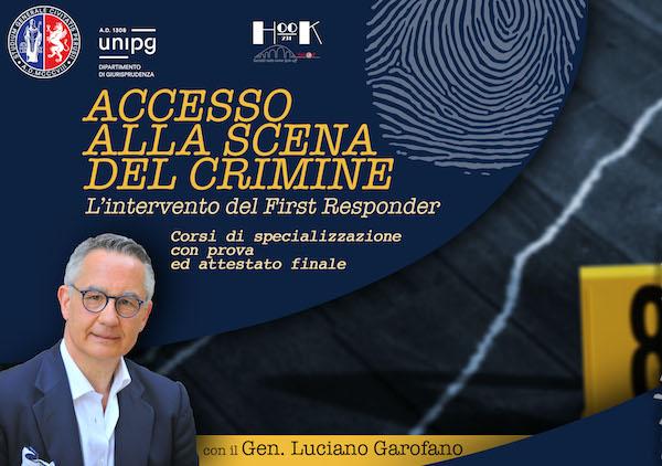 Accesso alla scena del crimine, via ai corsi di specializzazione con il generale Luciano Garofano