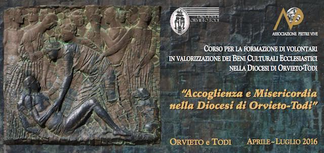 """""""Accoglienza e misericordia nella Diocesi di Orvieto-Todi"""", 11esimo corso per volontari"""