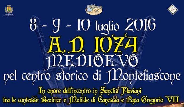 """Montefiascone sposta le lancette della storia. Arriva """"A.D. 1074 Medioevo"""""""