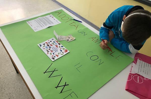 Gli alunni della Scuola Primaria aderiscono alla campagna del WWF e adottano un ghepardo