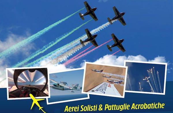 """Aerei solisti e pattuglie acrobatiche sulla Costa del Tirreno per """"Air Show"""""""