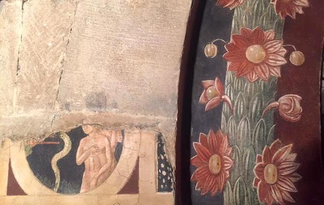 Visita straordinaria, e solidale, al cantiere di restauro delle Cripte del Duomo