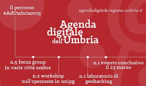 Agenda digitale Umbria. Sottoscritto il protocollo d'intesa tra le regioni del centro Italia