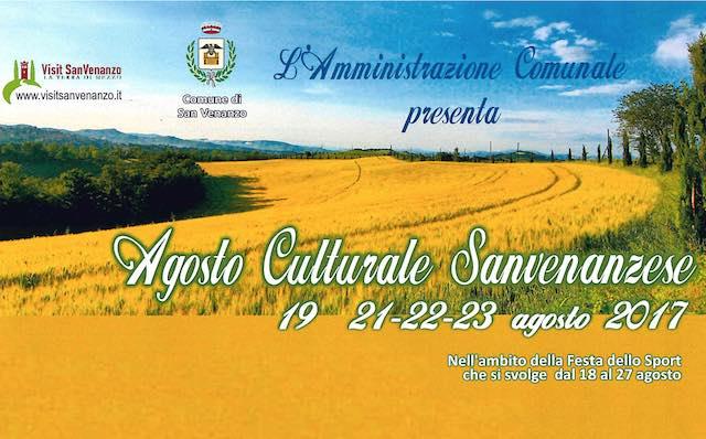 """""""Agosto Culturale Sanvenanzese 2017"""", tutti gli appuntamenti in programma"""