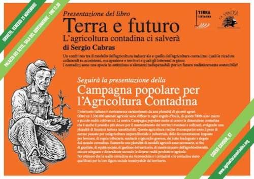 """Incontro su """"Terra e futuro. L'agricoltura contadina ci salverà"""""""
