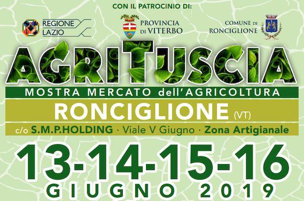 """Al via la prima edizione di """"AgriTuscia. Mostra Mercato dell'Agricoltura"""""""