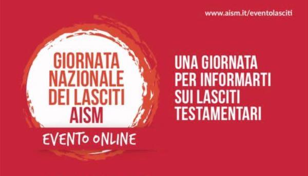 Lasciti testamentari Aism, evento on-line sul valore del testamento solidale