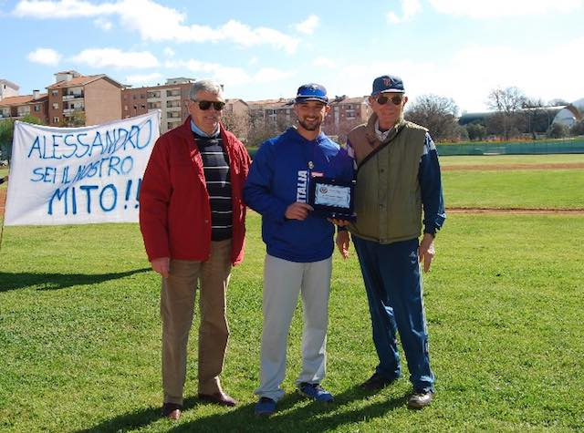 Baseball, Rams Viterbo festeggia il suo campione