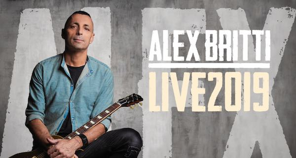 Alex Britti in concerto. Tappa gratuita per il chitarrista dall'animo blues