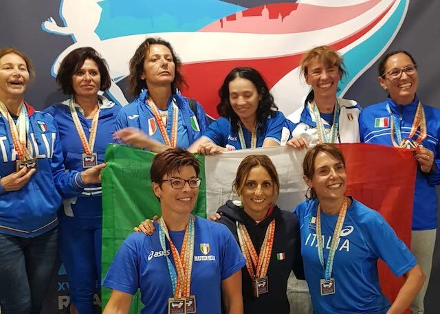 Campionati Europei Master Open di Alicante, la marcia orvietana è ancora d'oro