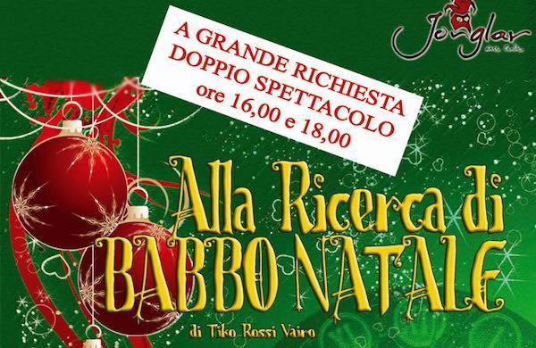 """Al Teatro Bianconi va in scena """"Alla ricerca di Babbo Natale"""""""