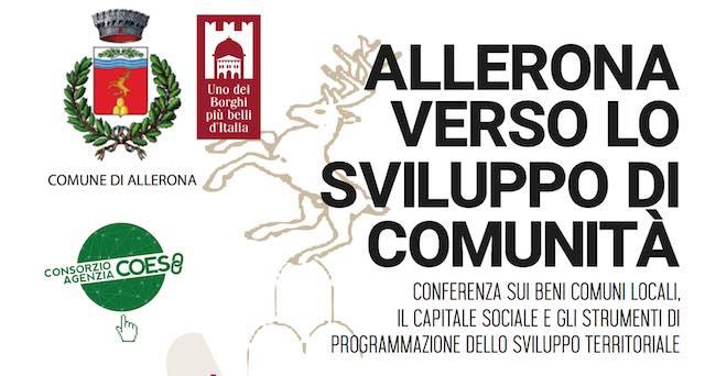 """""""Allerona verso lo sviluppo di comunità"""". Conferenza al Centro Polivalente"""