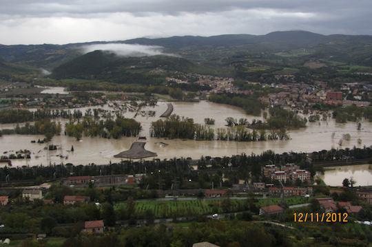 """Alluvione 2012. Regione: """"Contributi certi per abitazioni maggiormente danneggiate"""""""