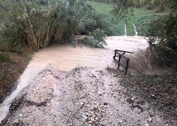 Consorzio Tevere-Nera e Comune danno il via ai lavori post-alluvione su fossi e frane