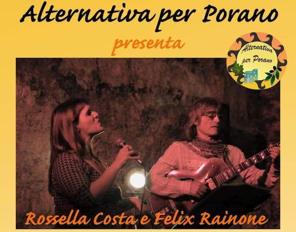 """Aperitivo in musica al Santa Cristina a sostegno di """"Alternativa per Porano"""""""