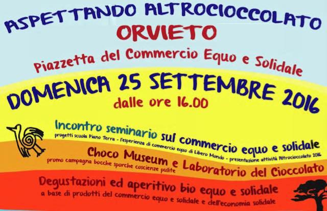 """""""Aspettando Altrocioccolato"""", il commercio equo e solidale fa festa in Piazza Mazzini"""