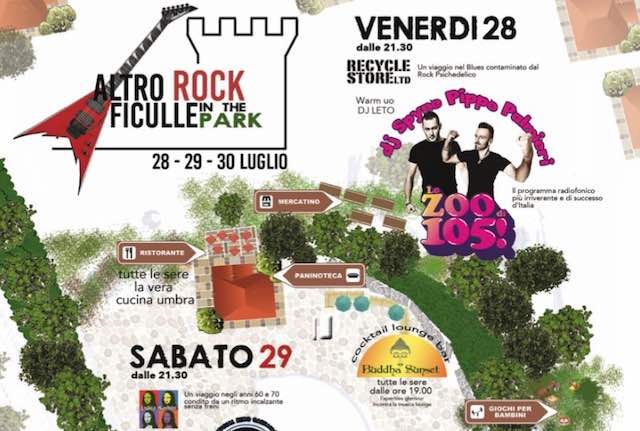 """Altro Rock Ficulle in the Park"", dove il divertimento cresce spontaneo"