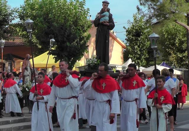 Alviano in festa per Sant'Anna e Sant'Antonio da Padova