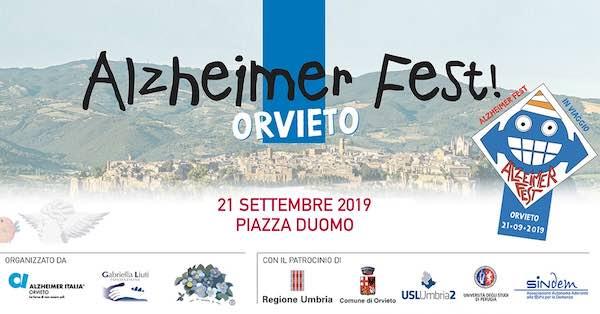 """Alzheimer Fest Orvieto"" in Piazza Duomo e Piazza Cahen"
