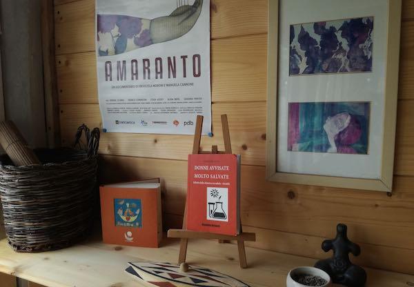 """""""Amaranto"""" alla Biblioteca di Campagna della Bella Verde"""