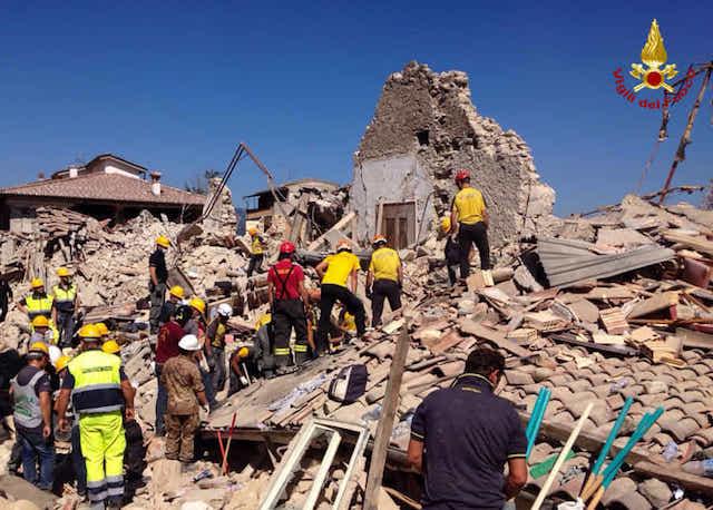 Terremoto, anche gli architetti nella ricostruzione