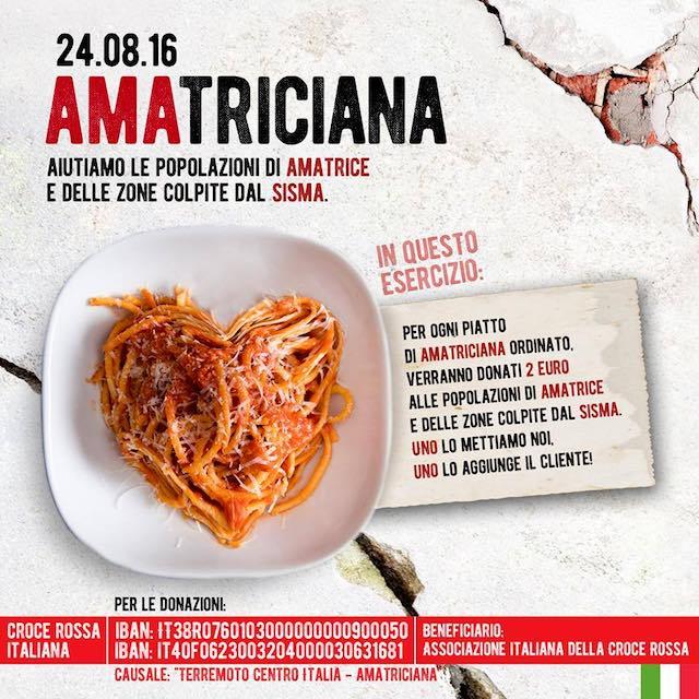 "I ristoratori orvietani aderiscono ad ""AMAtriciana"""