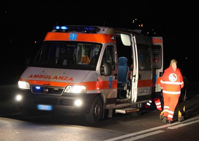 Furgone contro auto, ferita una 51enne in località Segheria