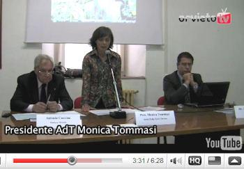 Territorio e sostenibilità. Ce ne parlano Monica Tommasi, presidente AdT, e Sebastiano Cami, Umbrias faber/ATENA. I video dell'iniziativa