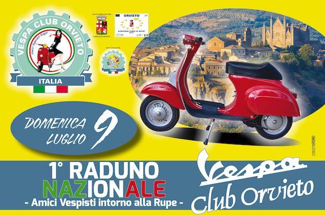 """""""Amici vespisti intorno alle Rupe"""". Primo raduno nazionale per il Vespa Club Orvieto"""