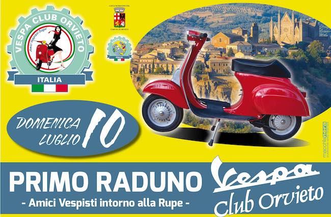 """""""Amici vespisti intorno alla Rupe"""". Domenica, il primo raduno Vespa Club Orvieto"""