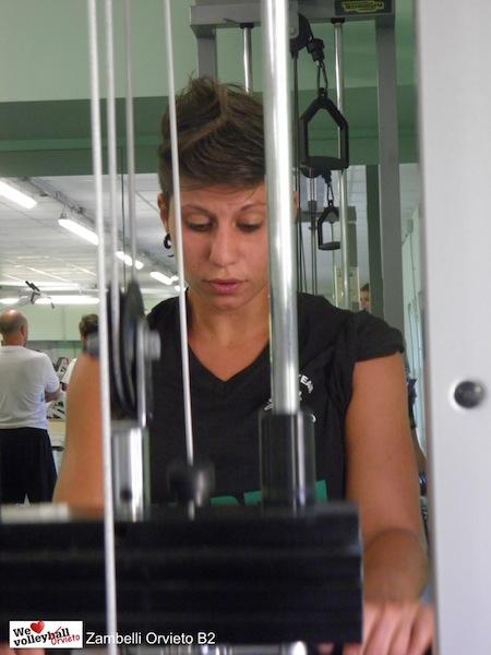 Arianna Andreani: l'unione fa la forza, rispetto e umiltà fanno il resto. Intervista al libero della Zambelli