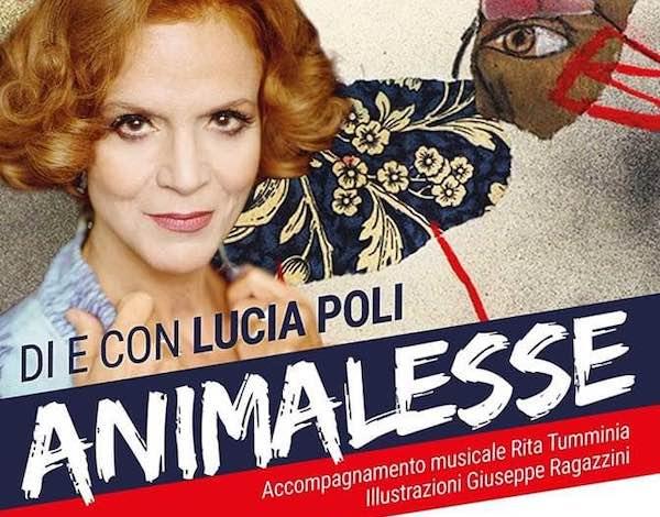 """""""Animalesse"""", la forza di Lucia Poli in scena al Teatro Caffeina"""
