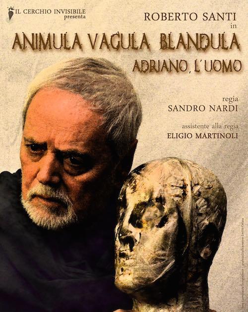Roberto Santi è l'imperatore Adriano al Teatro Boni