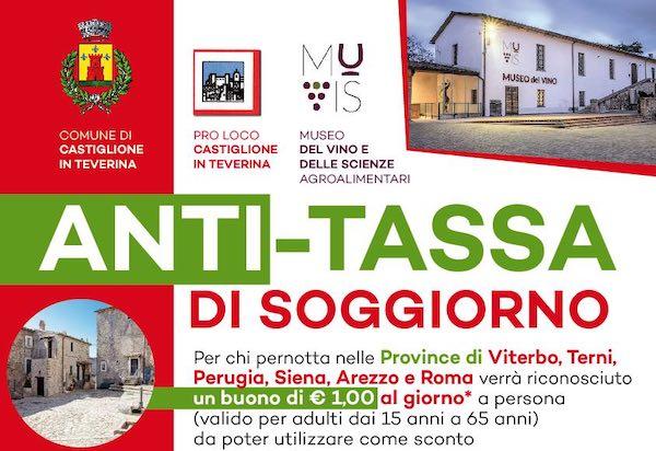 Arriva L Anti Tassa Di Soggiorno Per Agevolare Il Turismo Di Prossimita Orvietonews It
