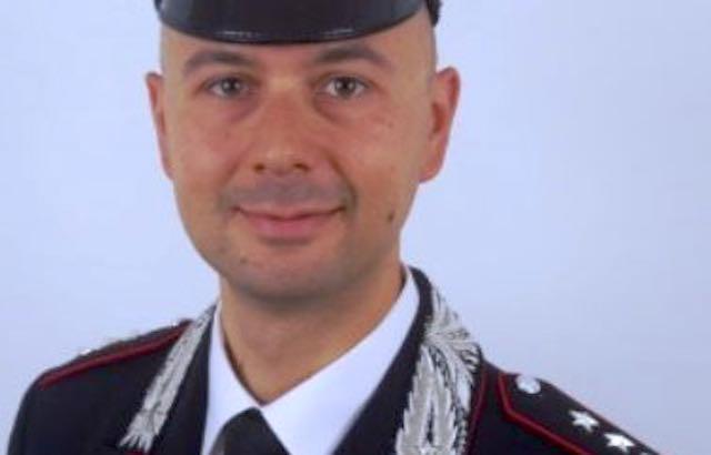 Antonino Zangla al comando della Compagnia dei Carabinieri