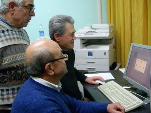 Corso di alfabetizzazione informatica per anziani. L'Unla chiede maggiore attenzione e una sede