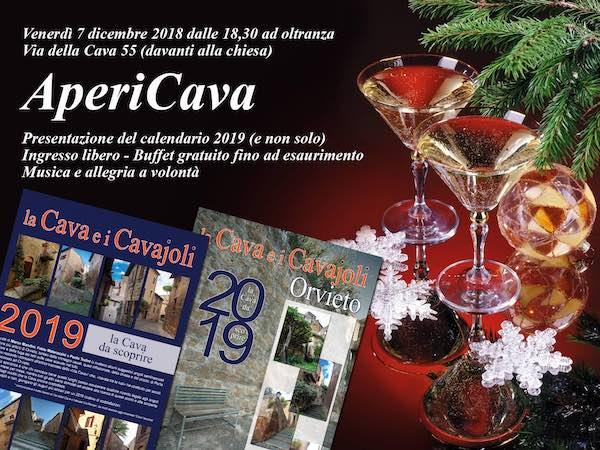 Festa con l'AperiCava. Si presenta il Calendario fotografico 2019