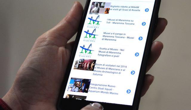 Musei di Maremma a portata di click con la nuova App per smartphone e tablet